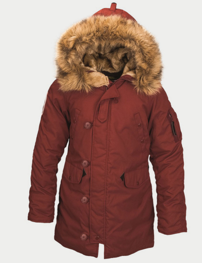 ALTITUDE W PARKA / Red Ochre