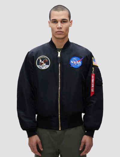APOLLO MA-1 BOMBER JACKET / Black