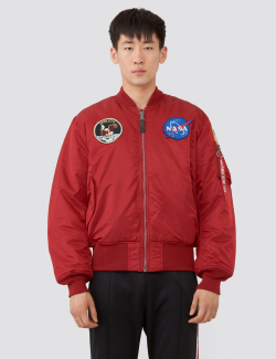 APOLLO MA-1 BOMBER JACKET / Commander Red