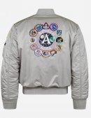 Куртка бомбер APOLLO MA-1 BOMBER JACKET - New silver - Alpha industries™