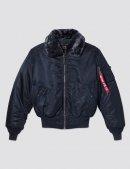 Куртка B-15 BOMBER JACKET W - Replica blue - Alpha Industries™
