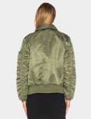 Куртка SLIM FIT B-15 BOMBER JACKET W - Sage - Alpha Industries™
