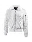 Куртка SLIM FIT B-15 BOMBER JACKET W - White - Alpha Industries™