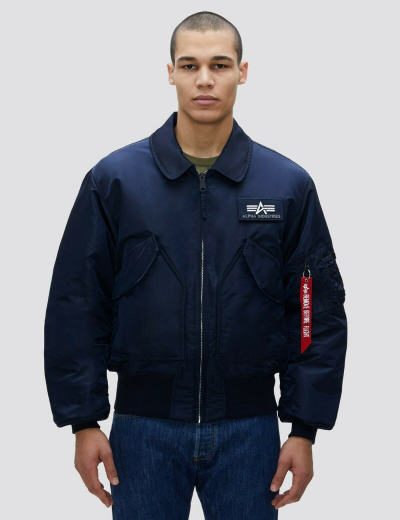 CWU 45/P BOMBER JACKET / Replica blue