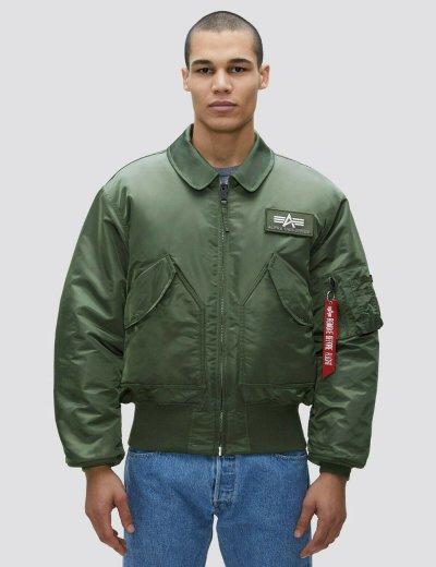 CWU 45/P BOMBER JACKET / Sage-green