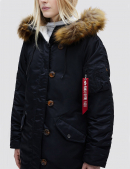 Куртка зимняя ELYSE - Black - Alpha Industries™