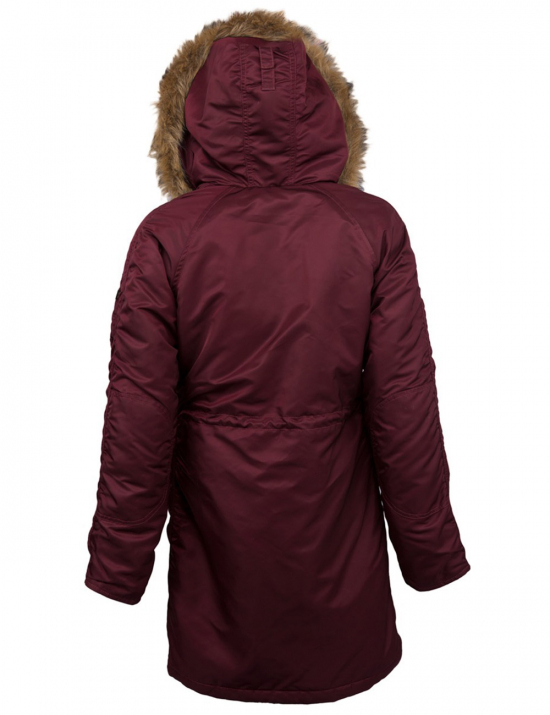 Куртка зимова ELYSE - Maroon - Alpha Industries™