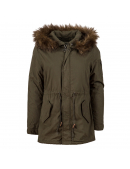 Куртка жіноча J-4 FISHTAIL W PARKA - M-65 Olive - Alpha inustries™