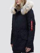 Куртка демисезонная J-4 IMPACT FISHTAIL W - Black - Alpha industries™