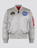 Куртка-вітровка L-2B APOLLO BOMBER JACKET - New silver - Alpha Industries™