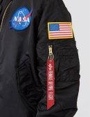 Куртка-вітровка L-2B APOLLO BOMBER JACKET - Black - Alpha Industries™