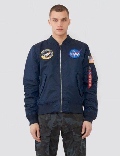 L-2B NASA BOMBER JACKET / Replica blue