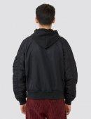 Куртка ветровка L-2B NATUS BOMBER JACKET - Black - Alpha Industries™