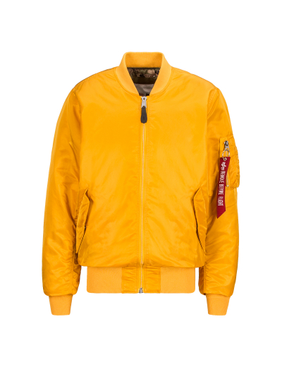 MA-1 COALITION BLOOD CHIT / Golden Yellow