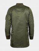Куртка бомбер довга MA-1 LONG / Sage