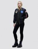 Куртка бомбер NASA MA-1 BOMBER JACKET W / Black
