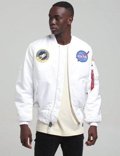 NASA MA-1 BOMBER JACKET / White