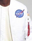 Куртка бомбер MA-1 NASA - White - Alpha Industries™