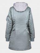 Куртка бомбер довга MA-1 NATUS LONG W - Silver Blue - Alpha Industries™