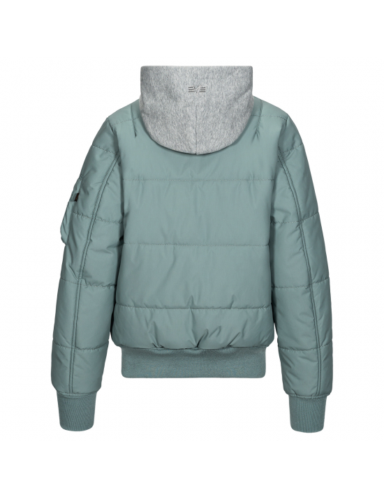 Летная куртка MА-1 Natus Quilted W Alpha industries™ / Silver Blue