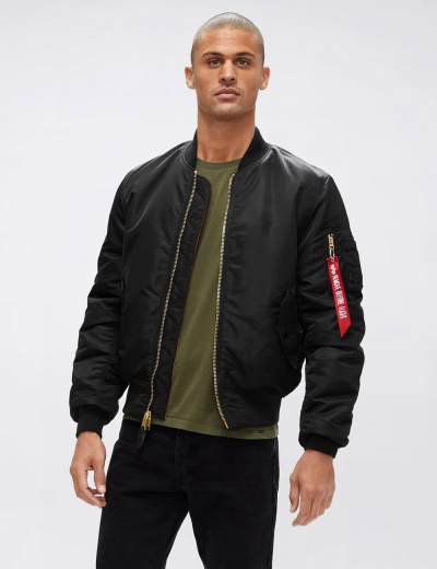 MA-1 BOMBER JACKET SLIM FIT / Black