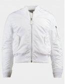 Куртка бомбер MA-1 BOMBER JACKET SLIM FIT / White