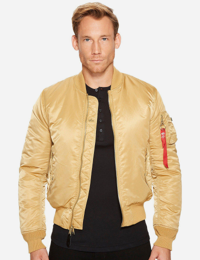 MA-1 BOMBER JACKET SLIM FIT / Camel