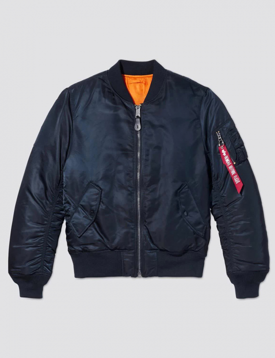 Куртка бомбер MA-1 BOMBER JACKET SLIM FIT - Replica blue - Alpha Industries™
