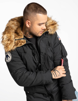 N-3B ALPINE PARKA / Black
