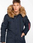 Зимова куртка N-3B ALPINE PARKA - Replica Blue - Alpha industries™
