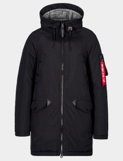 N-3B DOWN PARKA/ Black