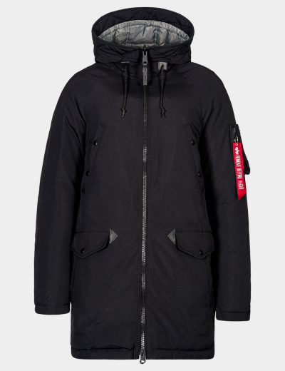 N-3B DOWN PARKA / Black