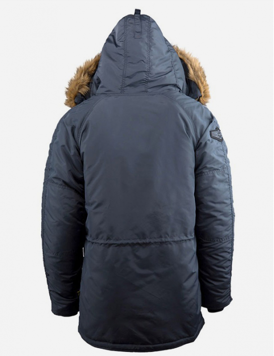 Зимняя куртка N-3B INCLEMENT PARKA - Steel Blue - Alpha industries™