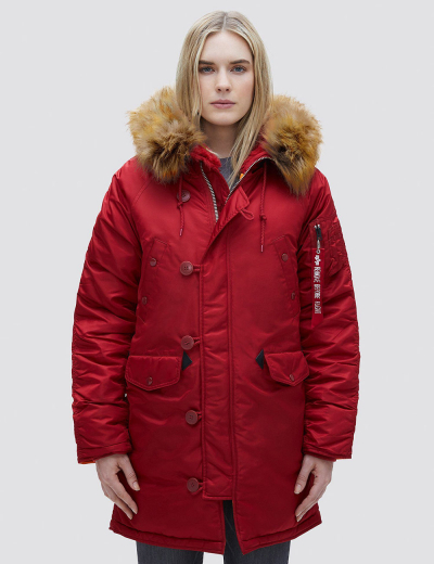 N-3B W PARKA / Commander Red