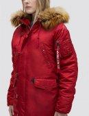 Куртка зимняя N-3B W PARKA - Commander Red - Alpha industries™