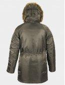 Куртка зимова N-3B W PARKA Alpha industries™ / Replica grey