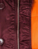 Зимова куртка PARKA N-3B SLIM FIT - Maroon - Alpha Industries™